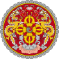 Kingdom of Bhutan - Coat of arms