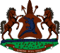 Kingdom of Lesotho - Coat of arms