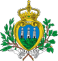 Most Serene Republic of San Marino - Coat of arms