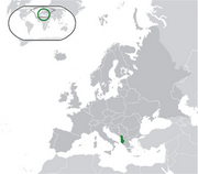 Republic of Albania - Location