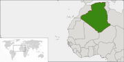 People's Democratic Republic of Algeria - Location
