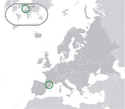 Principality of Andorra - Location