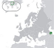 Republic of Azerbaijan - Location