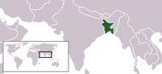 People's Republic of Bangladesh - Location