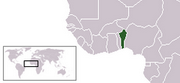 Republic of Benin - Location