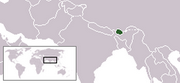 Kingdom of Bhutan - Location