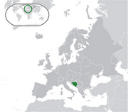Bosnia and Herzegovina - Location