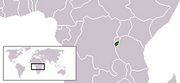 Republic of Burundi - Location