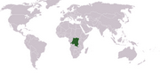 Democratic Republic of the Congo - Location
