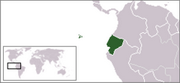 Republic of Ecuador - Location