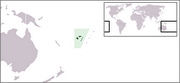 Republic of the Fiji Islands - Location