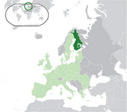 Republic of Finland - Location