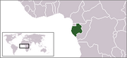 Gabonese Republic - Location