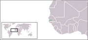 Republic of The Gambia - Location
