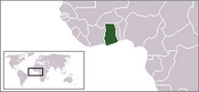 Republic of Ghana - Location