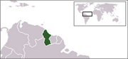 Co-operative Republic of Guyana - Location