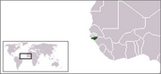 Republic of Guinea-Bissau - Location