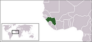 Republic of Guinea - Location