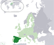 Kingdom of Spain - Location