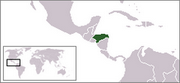 Republic of Honduras - Location