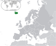 Republic of Iceland - Location