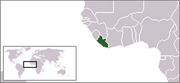 Republic of Liberia - Location