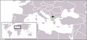 Republic of Macedonia - Location