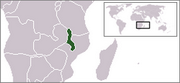 Republic of Malaŵi - Location
