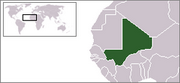 Republic of Mali - Location