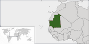 Islamic Republic of Mauritania - Location