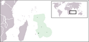 Republic of Mauritius - Location