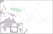 Federated States of Micronesia - Location