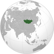 Mongolia - Location