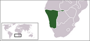 Republic of Namibia - Location