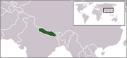 Federal Democratic Republic of Nepal - Location