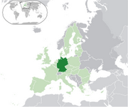 Federal Republic of Germany - Location