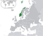 Kingdom of Norway - Location
