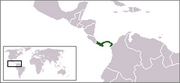 Republic of Panama - Location