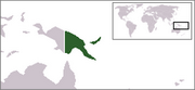 Independent State of Papua New Guinea - Location
