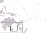 New Caledonia - Location