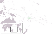 Territory of the Wallis and Futuna Islands - Location