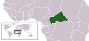 Central African Republic - Location