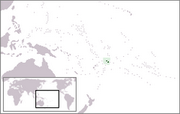 Independent State of Samoa - Location