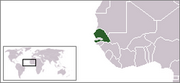Republic of Senegal - Location