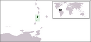 Saint-Vincent-et-les-Grenadines - Carte
