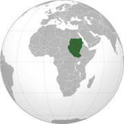 Republic of the Sudan - Location