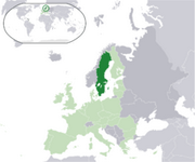 Kingdom of Sweden - Location