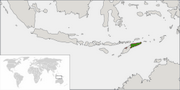 Democratic Republic of Timor-Leste - Location