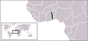 Togolese Republic - Location