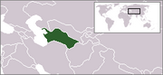 Republic of Turkmenistan - Location